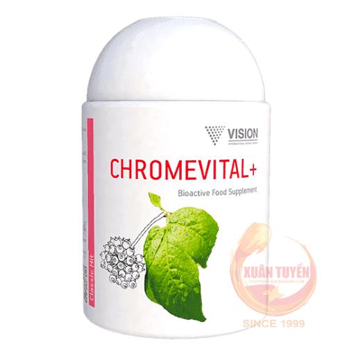 Sản phẩm Chromevital+ Vision thực phẩm chức năng bù đắp sự thiếu hụt trong khẩu phần ăn các vitamin